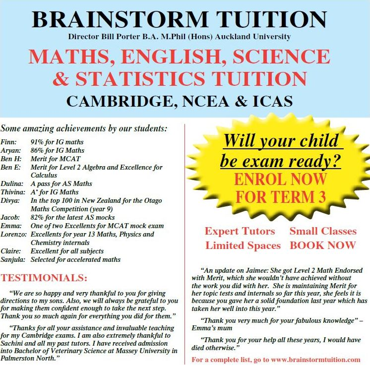 Brainstorm Tuition